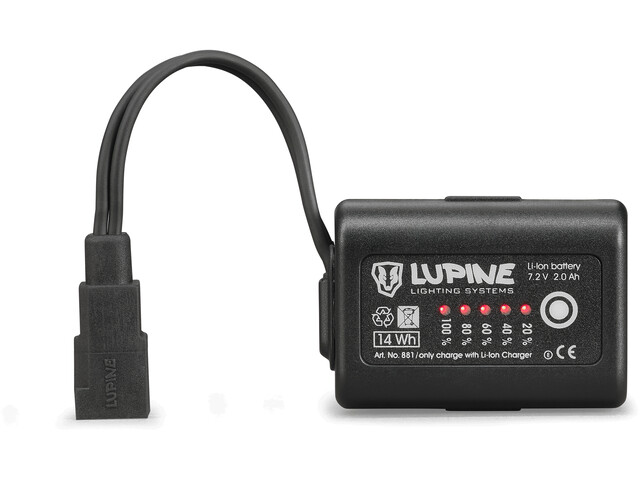 Lupine 2,0 Ah SmartCore FastClick Battery